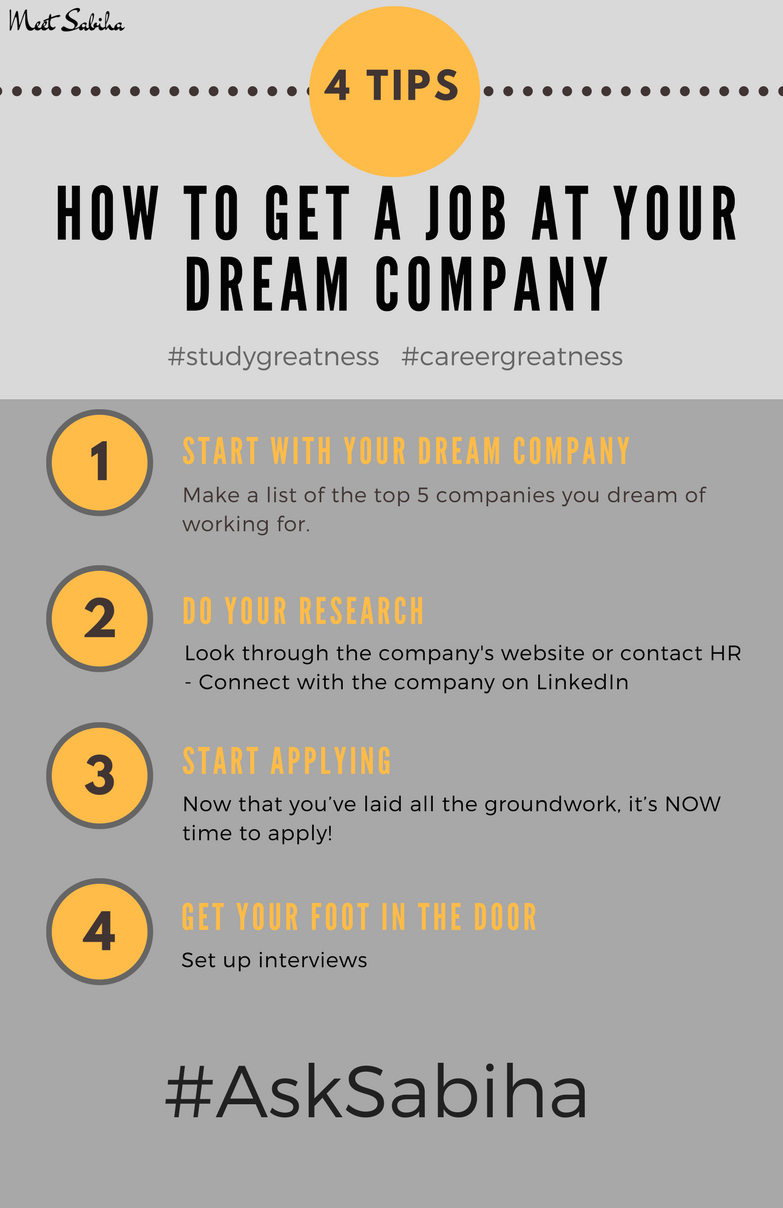 how-to-get-a-job at-your-dream-company